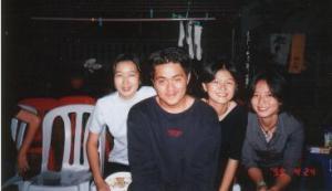 Taken at Dexter\'s Birthday party in 1999